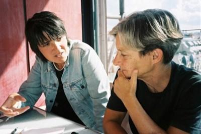 Judith Butler y Beatriz Preciado en entrevista con la revista Têtu